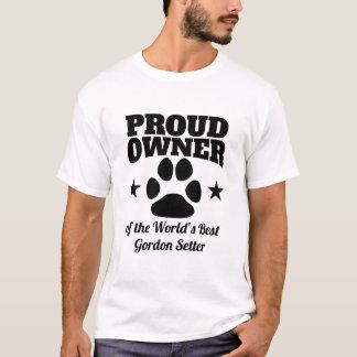 Proud Owner Of The World's Best Gordon Setter T-Shirt