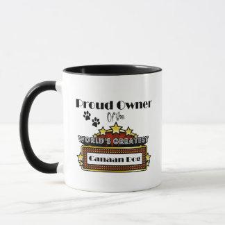 Proud Owner World's Greatest Canaan Dog Mug
