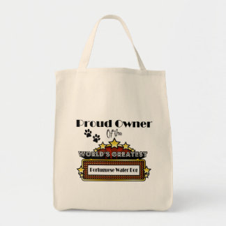 Proud Owner World's Greatest Portuguese Water Dog Tote Bag