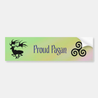 Proud Pagan Bumper Sticker