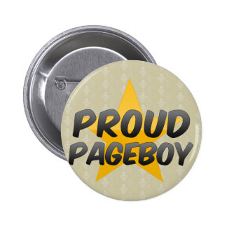 Proud Pageboy 6 Cm Round Badge