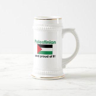 Proud Palestinian Beer Stein