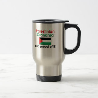 Proud Palestinian Grandma Stainless Steel Travel Mug