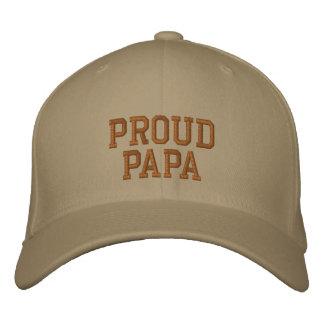 Proud Papa Cap Baseball Cap