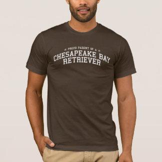 Proud Parent of a Chesapeake Bay Retriever Dark T T-Shirt