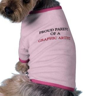 Proud Parent Of A GRAPHIC ARTIST Doggie T Shirt
