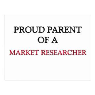 Proud Parent Of A MARKET RESEARCHER Post Card