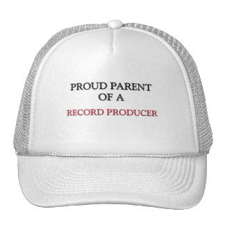 Proud Parent Of A RECORD PRODUCER Mesh Hats