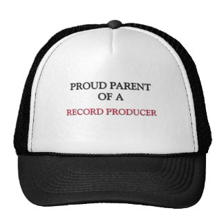 Proud Parent Of A RECORD PRODUCER Mesh Hat
