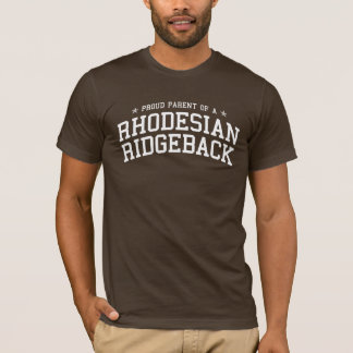 Proud Parent of a Rhodesian Ridgeback Dark Tee