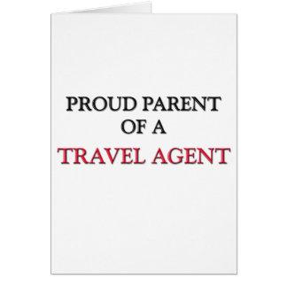 Proud Parent Of A TRAVEL AGENT Card