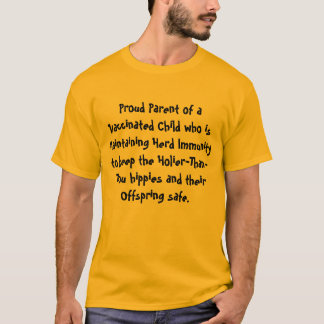 Proud Parent of Vaccinated Child T-Shirt