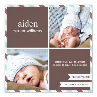 PROUD PARENTS | BIRTH ANNOUNCEMENT