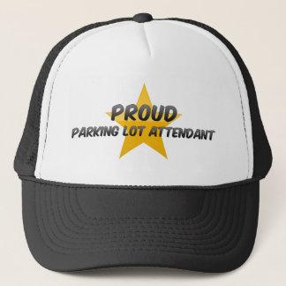 Proud Parking Lot Attendant Trucker Hat