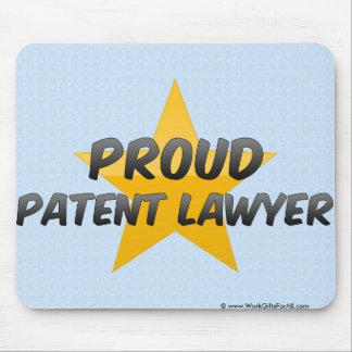 Proud Patent Lawyer Mousepads