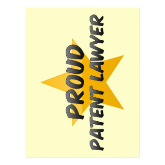 Proud Patent Lawyer Postcard