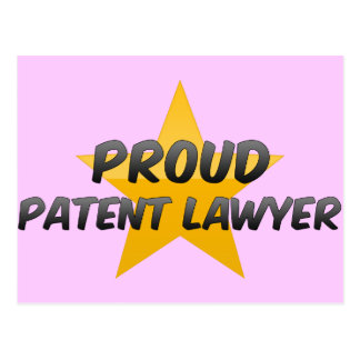 Proud Patent Lawyer Post Cards