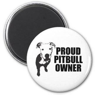 Proud PitBull Owner Magnet