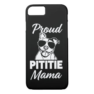 Proud Pittie Mama womens Pitbull phone case