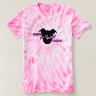 Proud Pitty Puppy Parent TieDye Tee