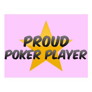 Proud Poker Player Post Cards