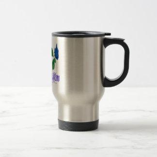 Proud Police Mom Travel Mug