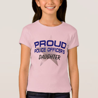PROUD POLICE OFFICER'S DAUGHTER T-Shirt