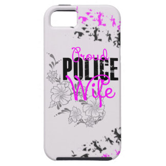 Proud Police Wife iPhone 5 Cover