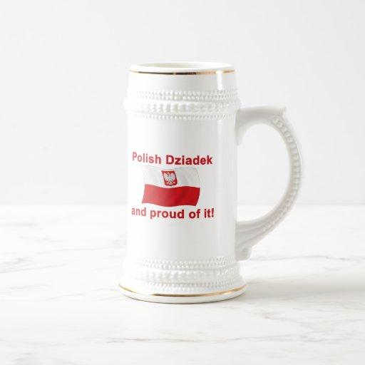 Proud Polish Dziadek (Grandfather) Mug