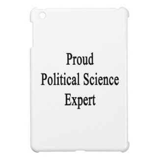 Proud Political Science Expert iPad Mini Cover
