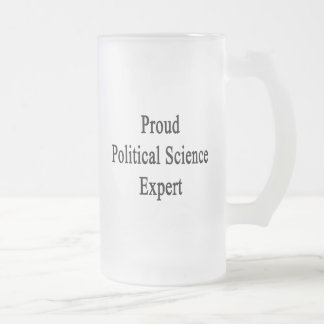 Proud Political Science Expert Mugs