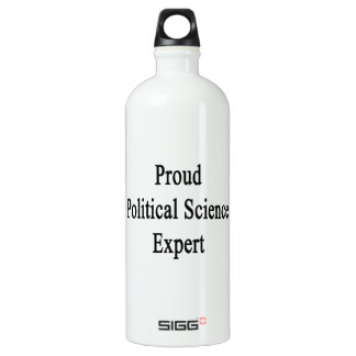 Proud Political Science Expert SIGG Traveller 1.0L Water Bottle