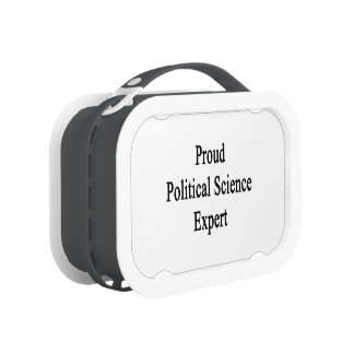 Proud Political Science Expert Yubo Lunchboxes