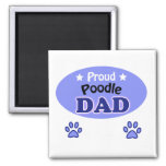 Proud Poodle dad Magneet
