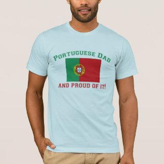 Proud Portuguese Dad T-Shirt