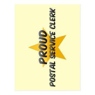 Proud Postal Service Clerk Post Card