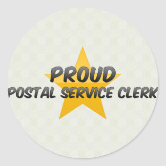 Proud Postal Service Clerk Sticker