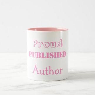 Proud Published Author Mug