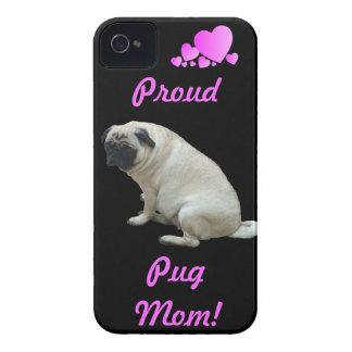 Proud Pug Mom iPhone 4/4S Case