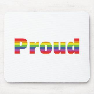 Proud Rainbow Designs Mouse Pad