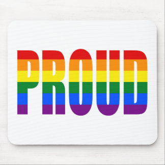 PROUD (Rainbow) Mouse Pad