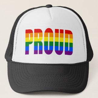 PROUD (Rainbow) Trucker Hat