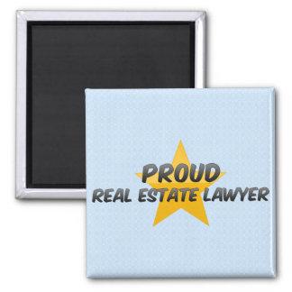 Proud Real Estate Lawyer Fridge Magnets