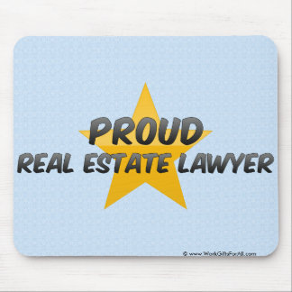 Proud Real Estate Lawyer Mousepads