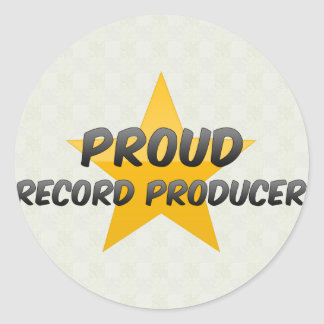 Proud Record Producer Stickers