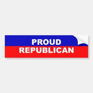 Proud Republican Bumper Sticker