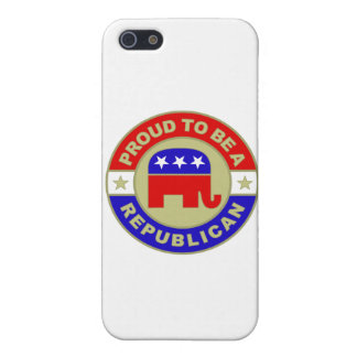 Proud Republican iPhone 5/5S Covers