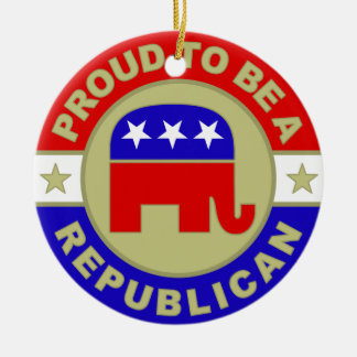 Proud Republican Ornament