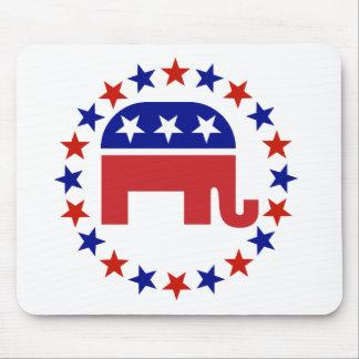 Proud Republican Stars Original Mouse Pads