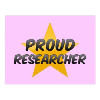 Proud Researcher Post Card